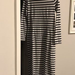 J.Crew Striped Dress Sz 0 NWT
